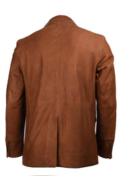 DISTRESSED LEATHER HYBRID - BROWN, FLYNT