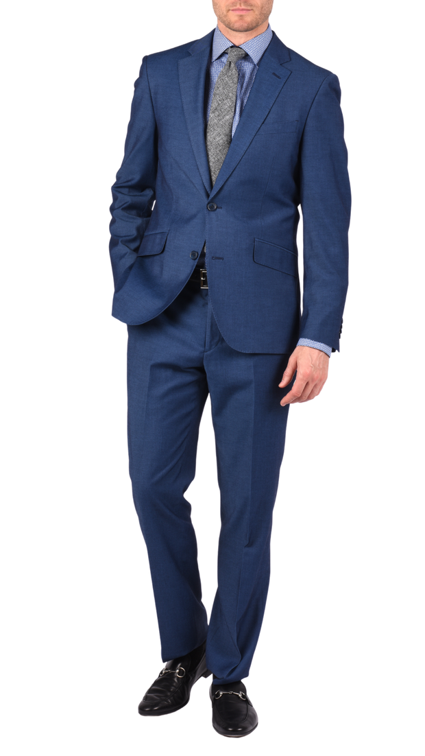 SAVILE ROW CO. SUIT JACKET - COBALT BLUE ENLIGHTENED GAB