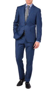 SAVILE ROW CO. SUIT PANT - COBALT BLUE ENLIGHTENED GAB