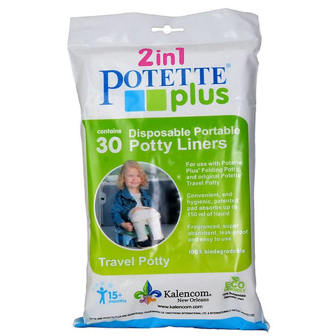 POTETTE PLUS LINERS - 10 Liners - White