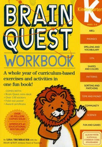 Brain Quest Kindergarten Work book