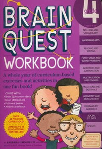 BrainQuest 4th Grade Workbook