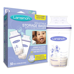 BONUS BreastmilkStorageBags with Adapter
