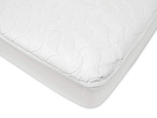 Fitted Waterproof Quilted Crib Mattress Cover
