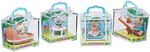 Calico Critters in Mini Carrying Case (Styles May Vary, Each Sold Individually)