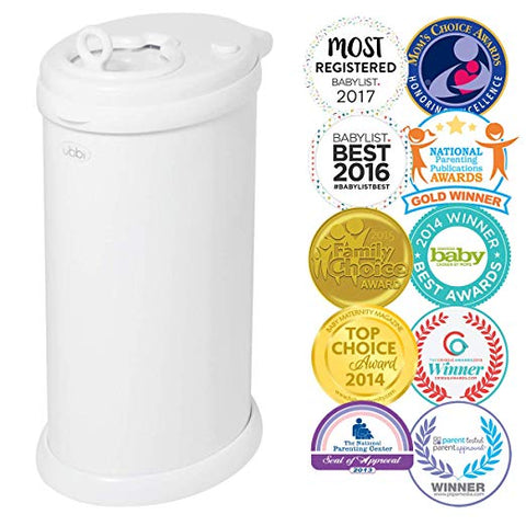 Steel Odor Locking Diaper Pail