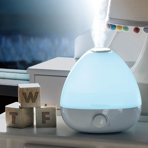 FridaBaby 3-in-1 Humidifier, White