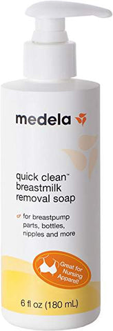 Quick Clean Breast Milk Removal Soap