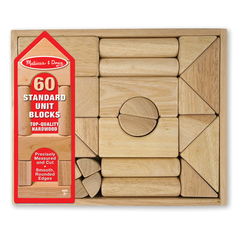 60 Wood Block Set