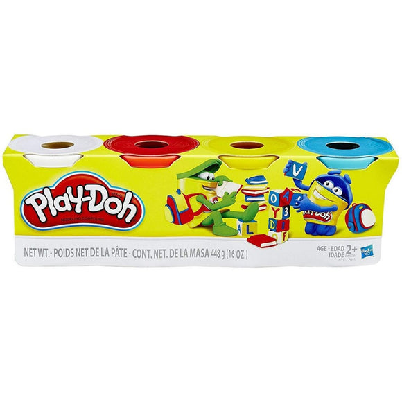 4 Pack Play-dough assorted Colors