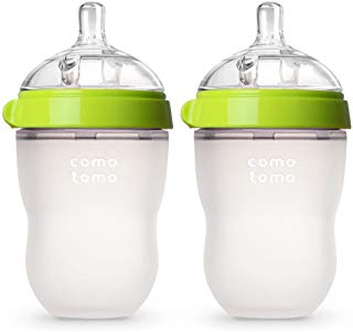 """Natural Feel"" Baby Bottle, 250ml (8oz) Double Pack"