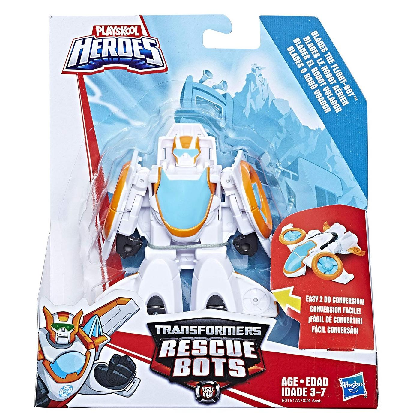 Transformers Rescue Bots Academy Hellicopter