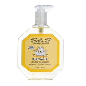 Squeaky Bee Hair and Body Wash, 13 oz Bottle