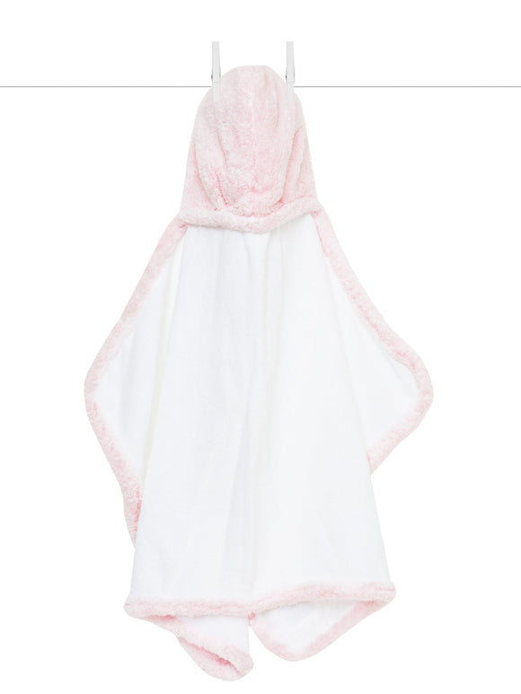 Chenille Hooded Towel Pink