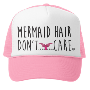 Mermaid hair don't care Trucker Hat