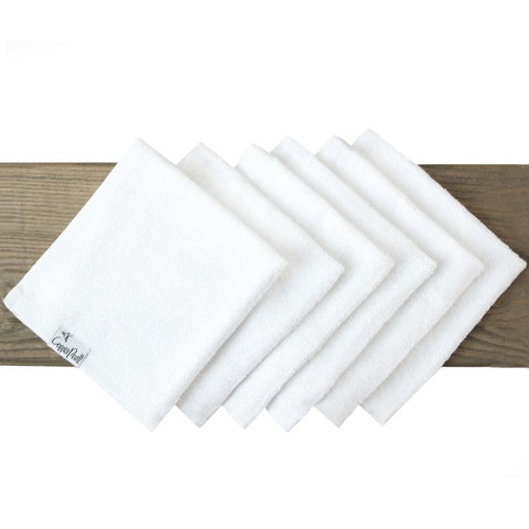 Bamboo Wash Cloth 6 Pack