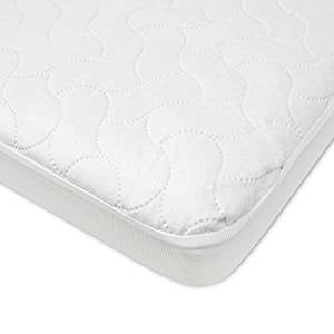 Microfiber Fitted Waterproof Quilted Playard Mattress Cover