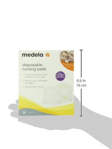 Disposable Nursing Pads - 60ct