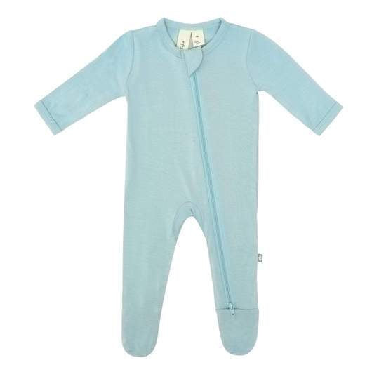 Zipper Footie Seafoam