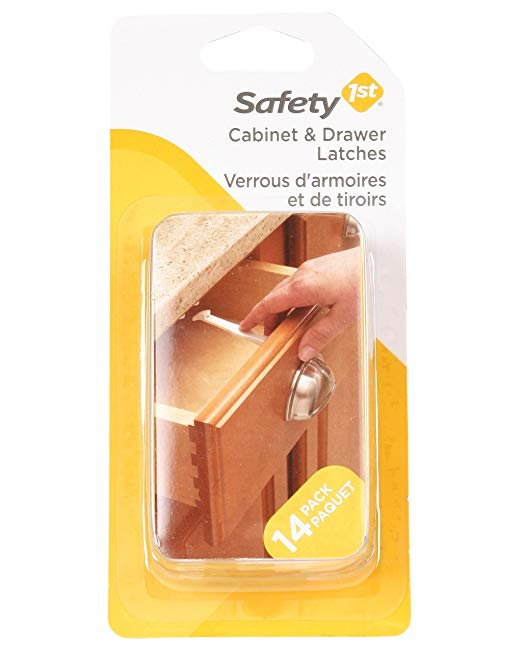 Spring-Loaded Cabinet & Drawer Latch (10pk)