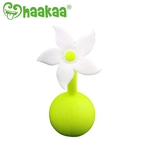 Hakaa Silicone Breast Pump Stopper White