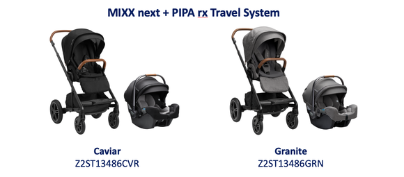 2021 MIXX NEXT + Pipa RX Travel System