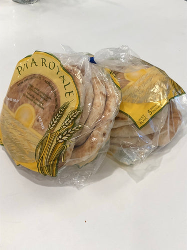 White pita packs
