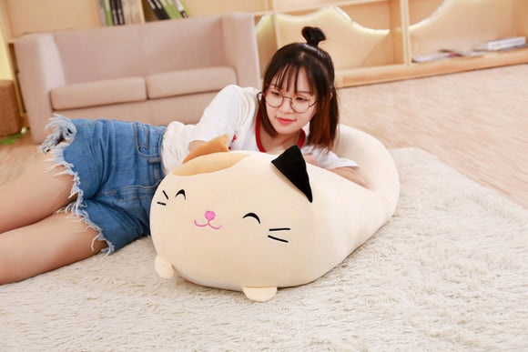 Cute Plush Totoro Cat Pillow