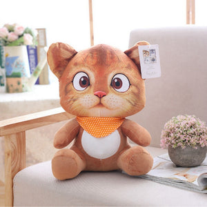 Cute Soft 8in Stuffed Cat Plush Toy