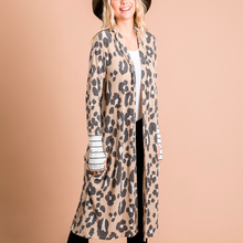 Load image into Gallery viewer, Striped Leopard Cardi