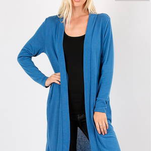 Soft Pocketed Cardi Plus