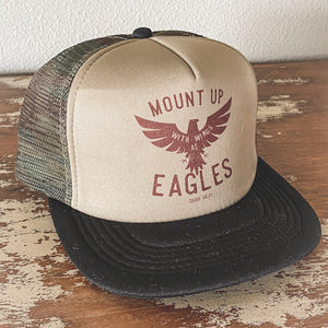 Mount Up Camo Trucker