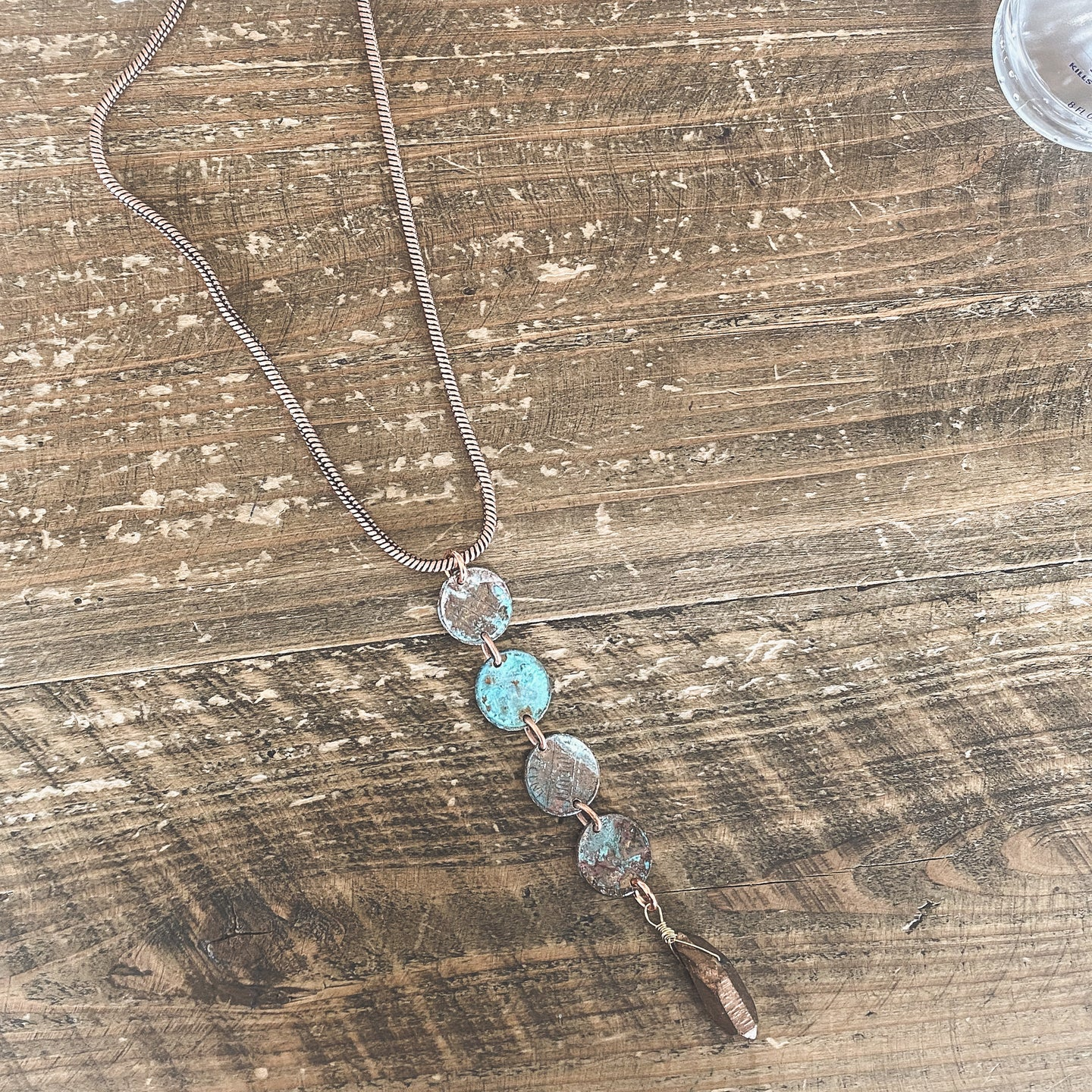 Penny Quad Necklace