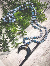 Load image into Gallery viewer, Long Natural Necklace - Blue