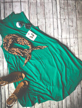 Load image into Gallery viewer, Little Green Swing Dress
