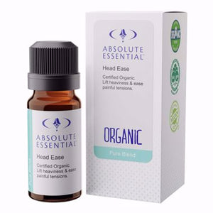 Absolute essentials - HEAD EASE (ORGANIC) pure oil blend
