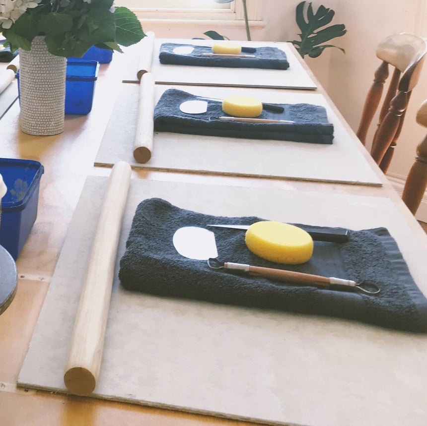 Breakfast set workshop with Lily from Lil Ceramics - Sat May 15th