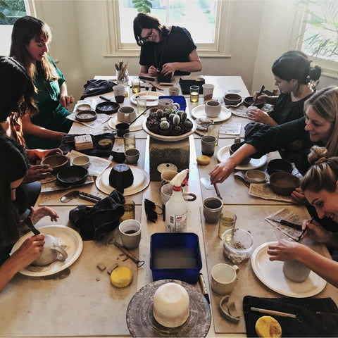 Ceramics workshop with Lily from Lil Ceramics - Email to book this workshop for your group