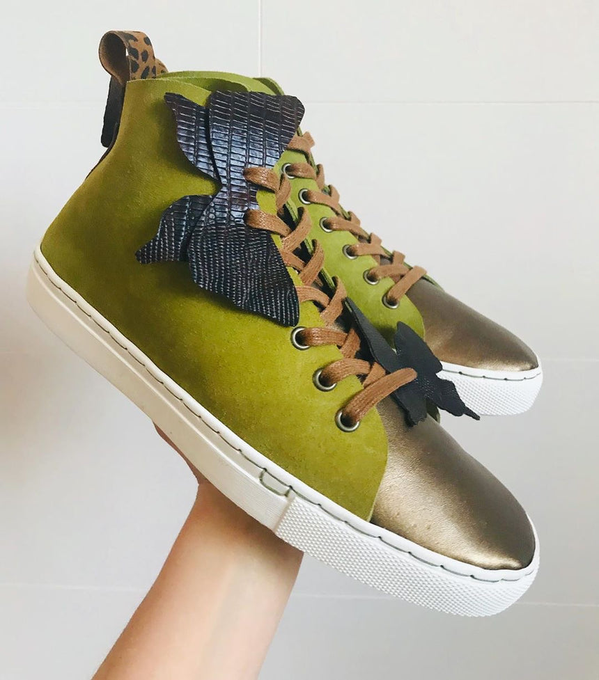 1 day Leather Sneaker Workshop with Shoe School