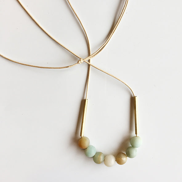 Wendy Nannestad - Necklace - U Minerals - Amazonite