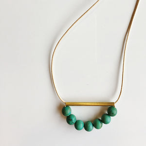 Wendy Nannestad - Necklace - D Minerals - Turquoise