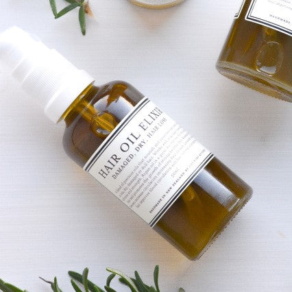 Country Kitchen - Hair Oil Elixir | Rosemary & Wild Cleavers