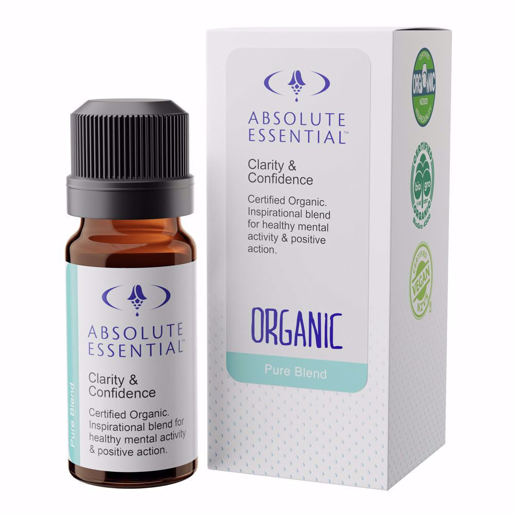 Absolute essentials - CLARITY & CONFIDENCE (ORGANIC) pure oil blend
