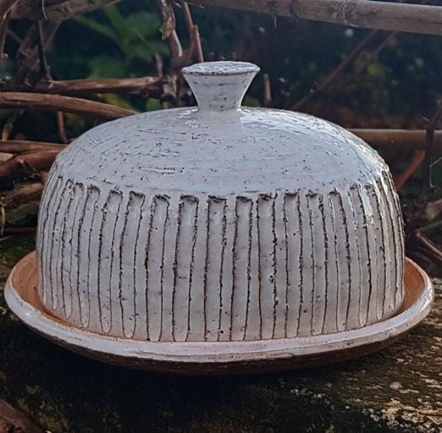 Ceramic Butter dish and bowl Workshop with Richard Naylor - email to book this workshop for your group