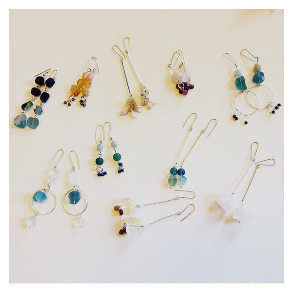 Sterling Silver and Gemstone Jewellery Workshop with Tania Sutherland - Please email to request this workshop for your group