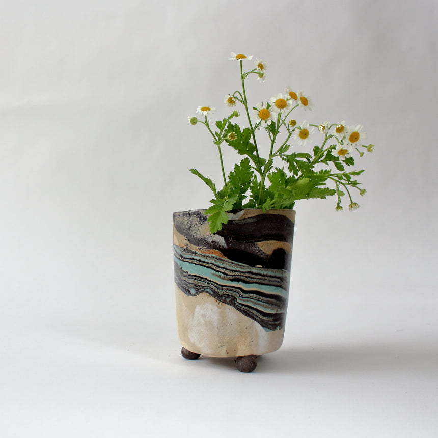 Plant pot - low tide 3