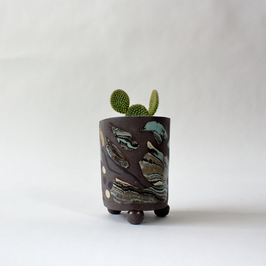 Plant pot - low tide 10