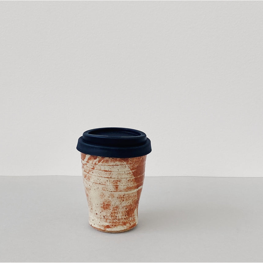 Reusable takeaway cup - Shino rust
