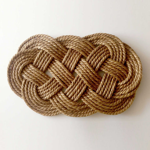 Knotted Rope Doormat Workshop with Wendy Nannestad - Please email to book this workshop for your group
