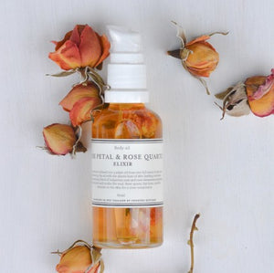 Country Kitchen - Rose petal and Rose quartz Elixir
